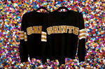 SAINTS Black Color Rush Jersey Sweater