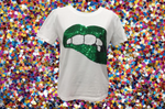 Lucky Lips Tee St. Patty's Green