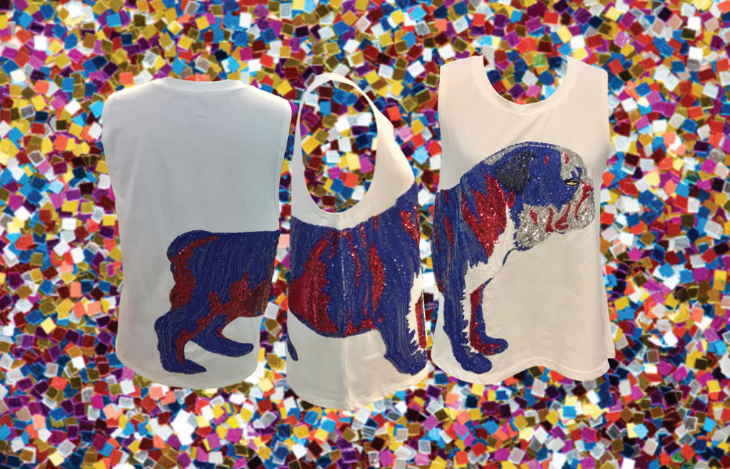 Wrap-Around LA Tech Bulldog Tank