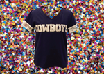 COWBOYS Dallas Sequin Jersey Tee