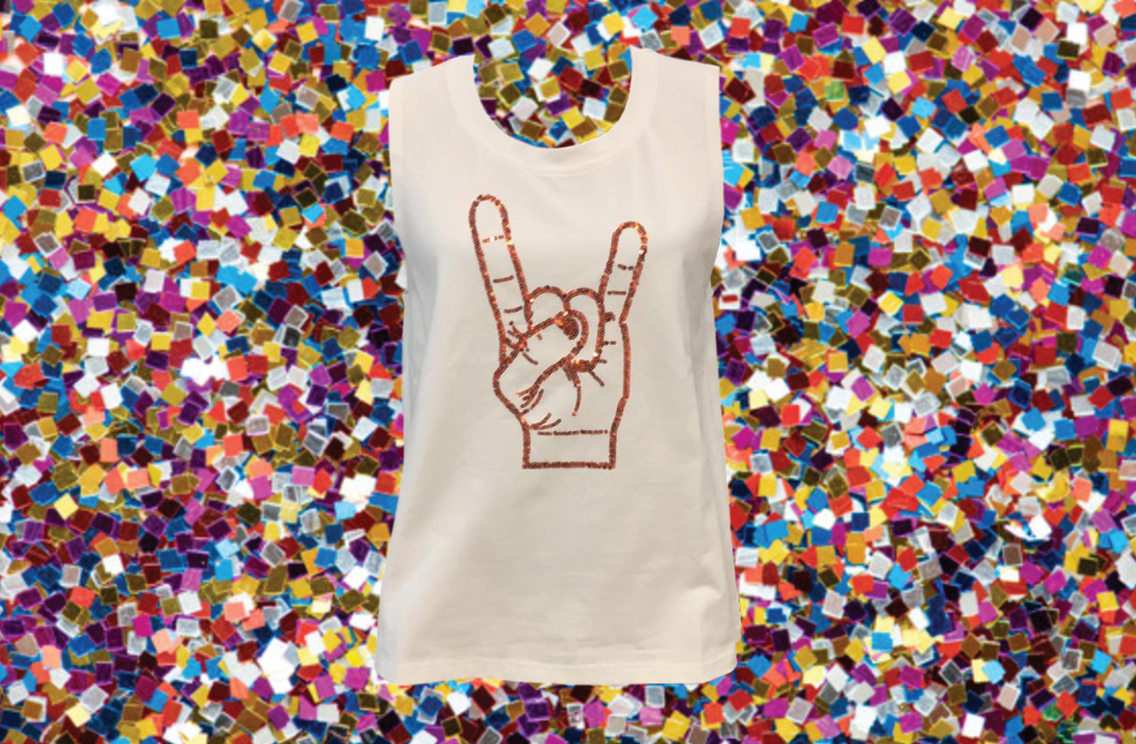 Texas Hand Sign Tank