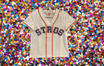 STROS Houston Astros Sequin Jersey Tee