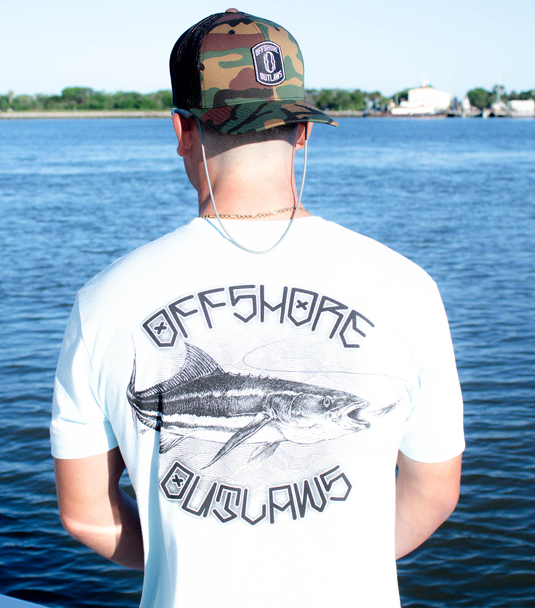 Men's Ice Blue Cobia Short Sleeve Tee