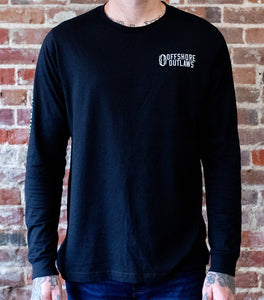 Black Long Sleeve Unisex Tee