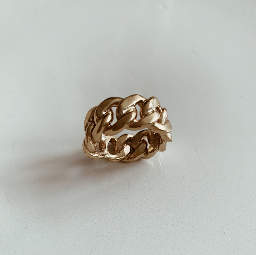 Chain Design Ring