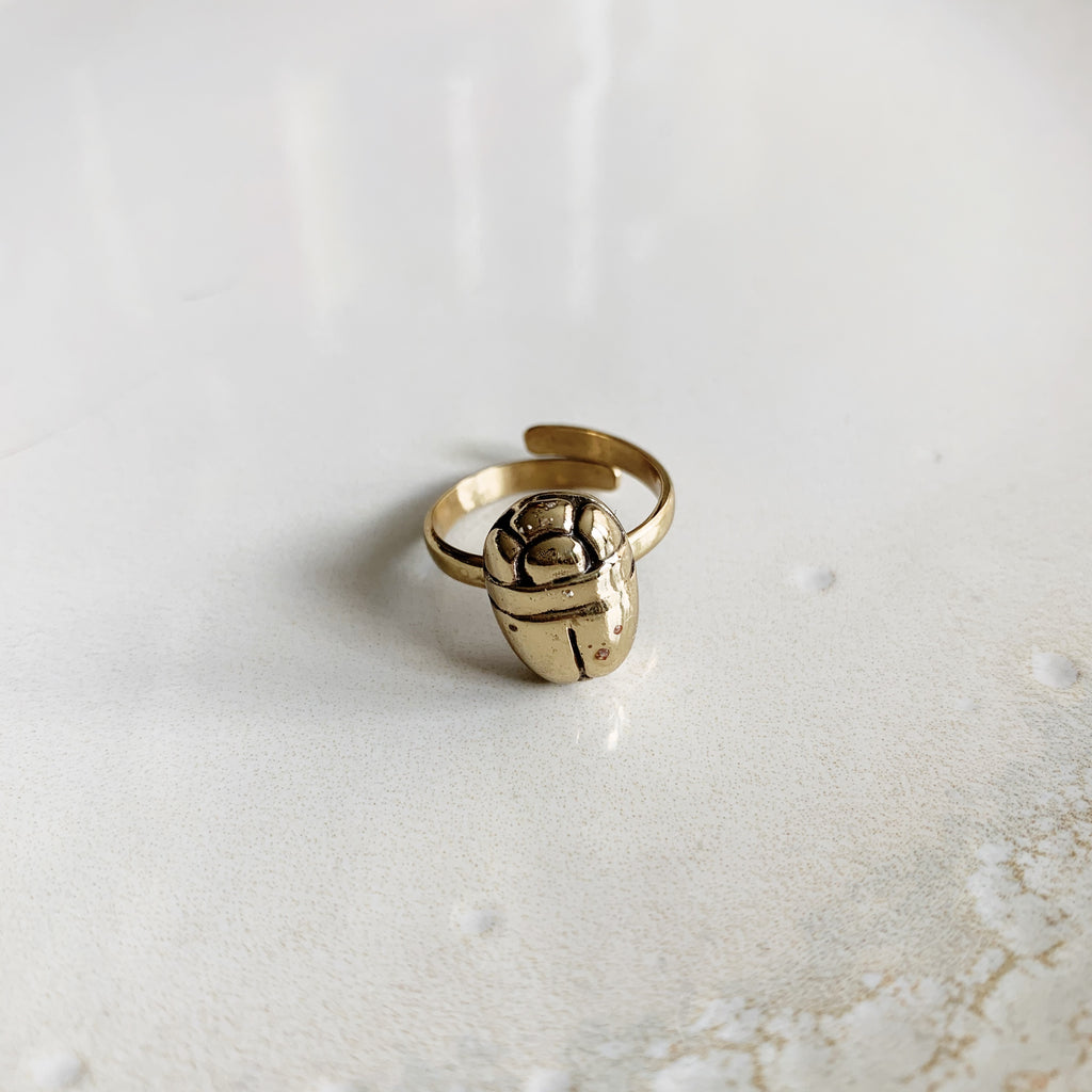 Beetle Ring - Gold