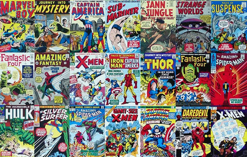 50 Comic Book Mystery Set