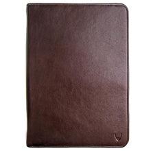 Load image into Gallery viewer, Hidesign IMG iPad Leather Portfolio/Padfolio with Handmade Paper Notebook