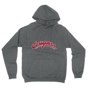 Official NCAA Washington State University Cougars - PPWST04 Mens / Womens Boyfriend Hoodie
