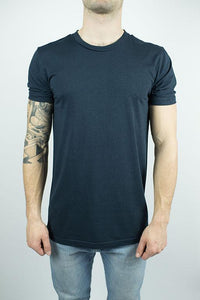 Organic Bamboo T-shirt in Midnight Blue