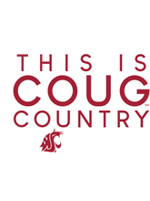 Load image into Gallery viewer, Official NCAA Washington State University Cougars - 247WSTCY Mens / Womens Boyfriend T-Shirt