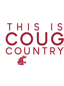 Official NCAA Washington State University Cougars - 247WSTCY Mens / Womens Boyfriend T-Shirt