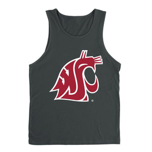 Official NCAA Washington State University Cougars - RYLWST06 Premium Tank Top