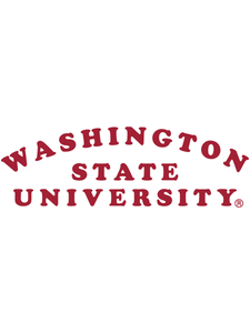 Official NCAA Washington State University  Cougars - RYLWST01 Mens / Womens Boyfriend Hoodie