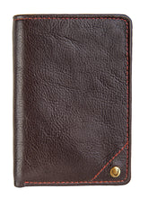 Load image into Gallery viewer, Hidesign Angle Stitch Leather Slim Trifold Wallet
