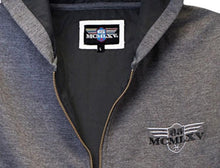 Load image into Gallery viewer, Men's Zip Hoodie In Charcoal