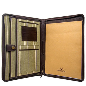 Hidesign IMG iPad Leather Portfolio/Padfolio with Handmade Paper Notebook