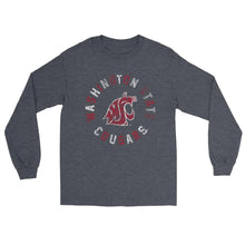 Load image into Gallery viewer, Official NCAA Washington State University Cougars - CL18WST30 Mens/ Womens Boyfriend Long Sleeve Tee