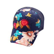 Load image into Gallery viewer, Flower Print Baseball Cap