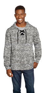 Electric Grey Lace Up Hood