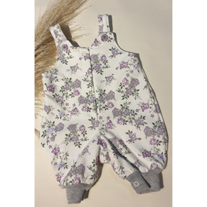 Betty Overalls - White Floral / New Style