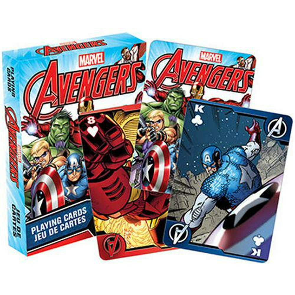 Avengers Comics Playing Cards