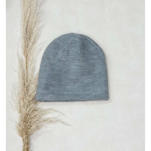 SLOUCH BEANIE MID GREY