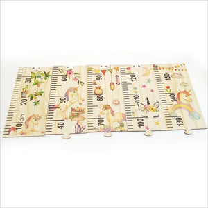 Height Chart Jigsaw - Unicorn