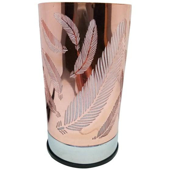 Feather Titanium Gold Touch Lantern