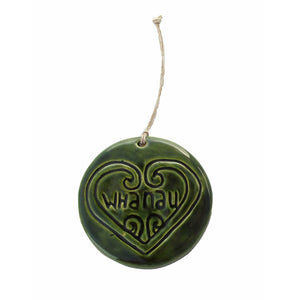 Green Whanau - Ceramic Wall Art