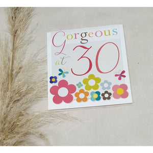 CARD - Gorgeous at 30