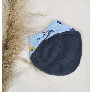 Baby Dribble Bibs - Blue Cars