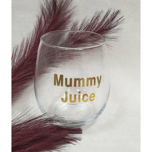 Mummy Juice - Wine Glass