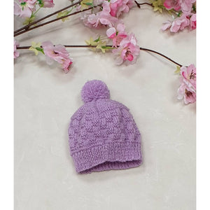New Born Baby Beanies - Lavender