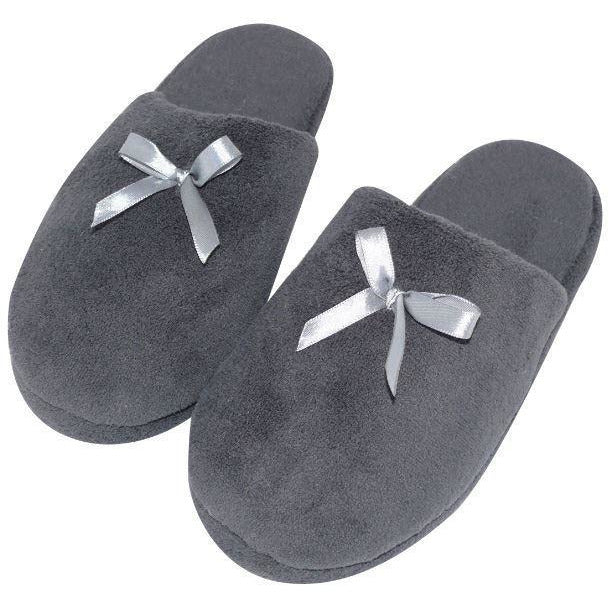 SLIPPER DARK GREY LG