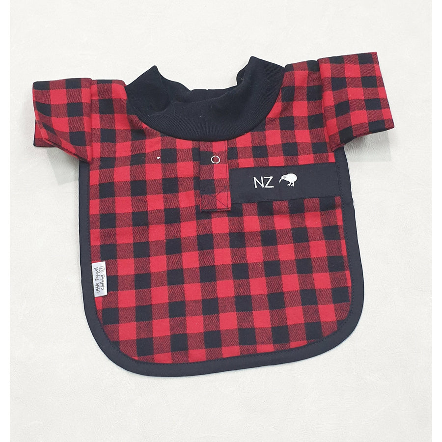 Red Bush Shirt Bib
