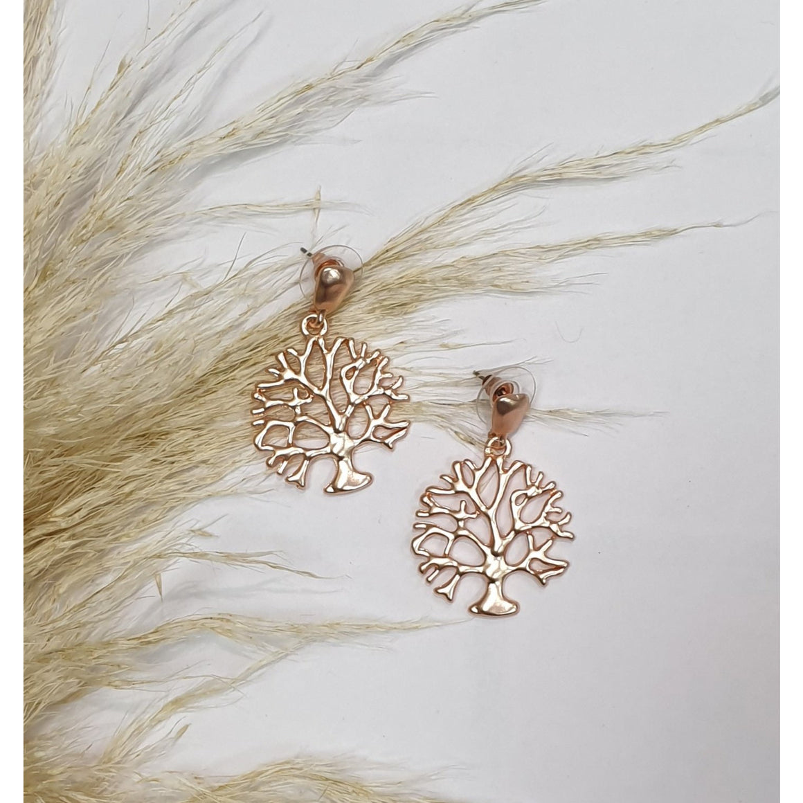 Woodland Earring - Rose Gold