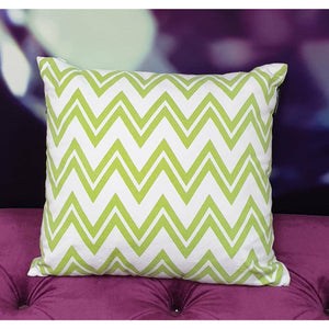CUSHION GREEN 45X45CM
