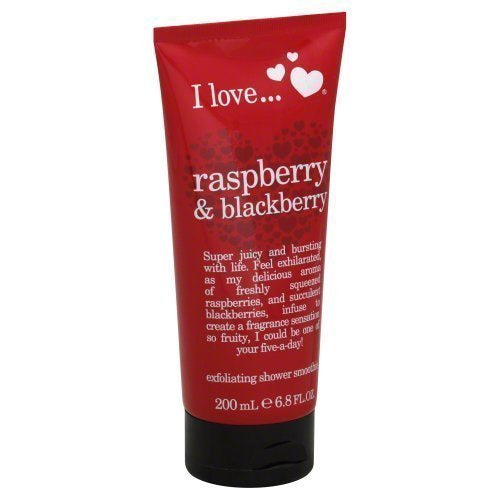EXFOLIATING SHOWER SMOOTHIE 200ML RASBERRY & BLACKBERRY