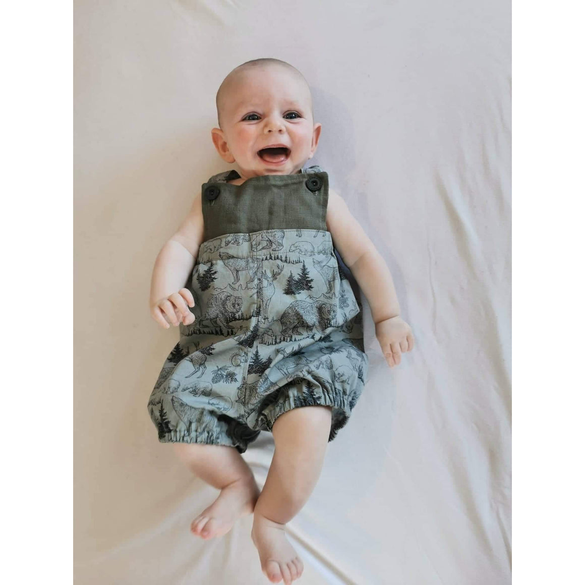 Into the Wilderness Overalls - Wildlife