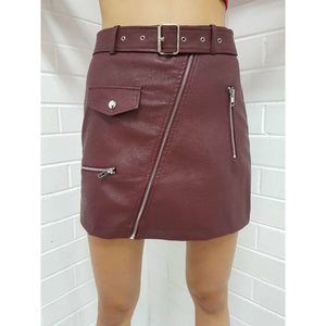 Justice Skirt - Red