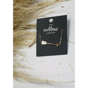 The Willow Collective - Arrow Necklace