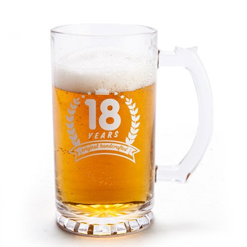 Beer Stein Glass - 18