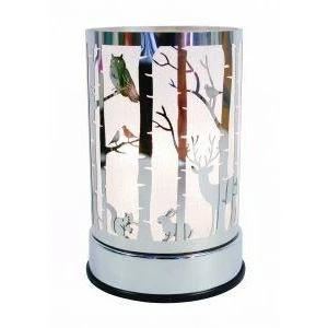 Woodlands Silver Touch Lantern