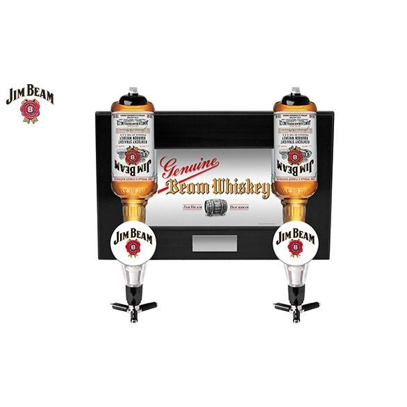 Jim Beam wall mounted double dispenser