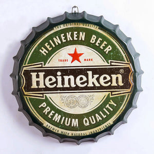 Heineken Bottle Top Sign
