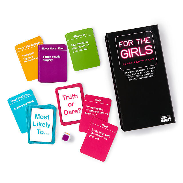 PRE ORDER For The Girls - Adult Party Game