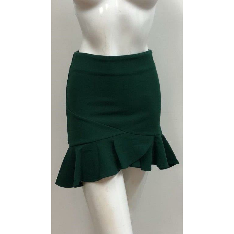 Khloe Skirt - Emerald Green