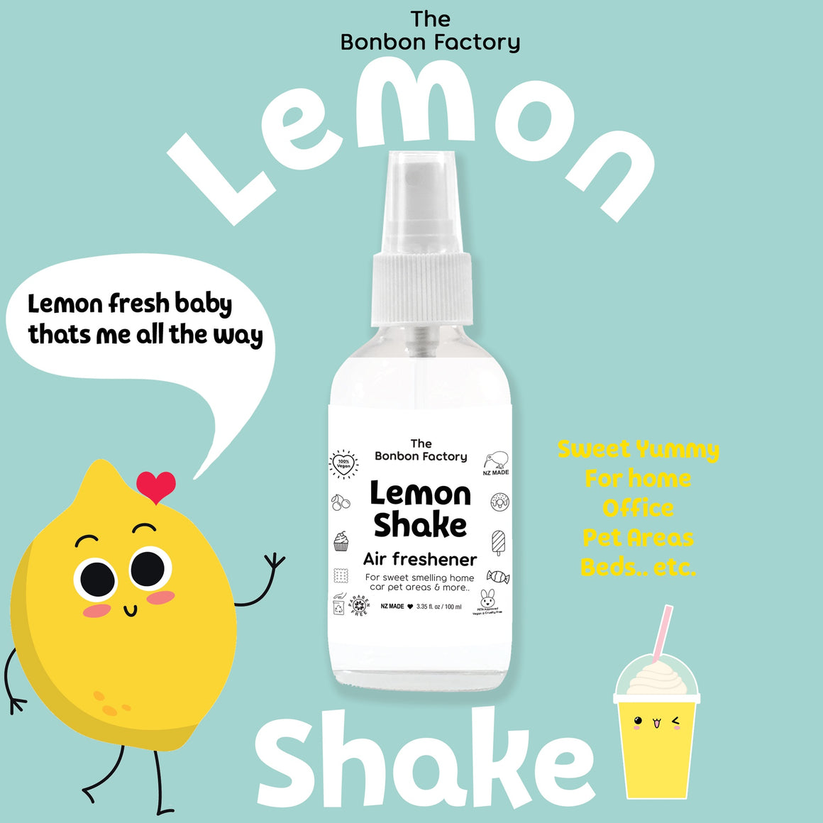 Lemon Shake – Air Freshener