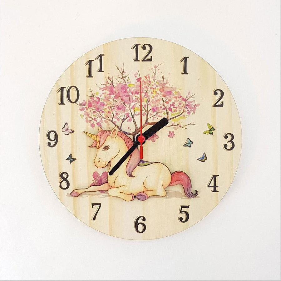 Unicorn Pine Clock